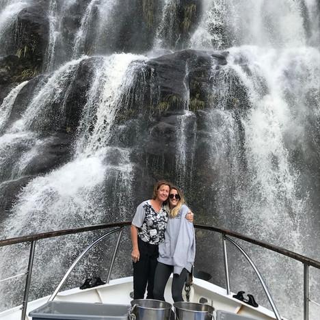 Acheron passage waterfall