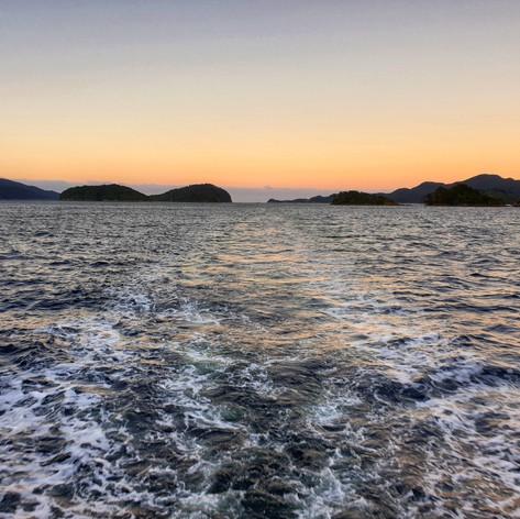 Dusky Sound sunrise