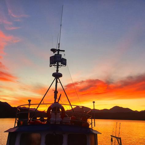 Morning sunrise Preservation Inlet