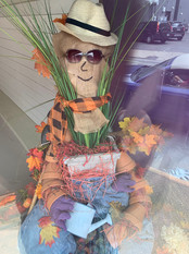 Scarecrow In A Pot