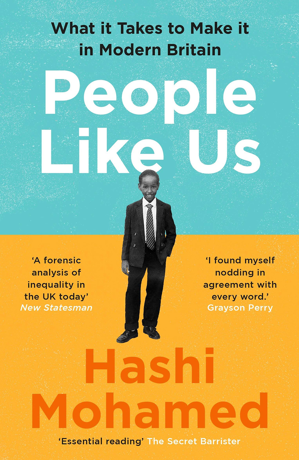 Book cover of People Like Us by Hashi Mohamed
