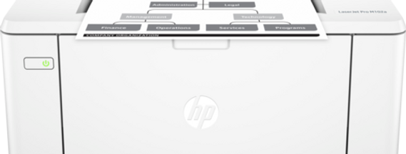 HP LASERJET M102 USB + NETWORK