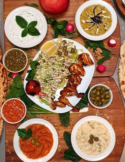 Colbeh Restaurant Dish