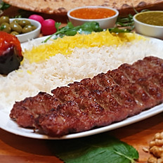 21.  Chelo Kabab Koobideh