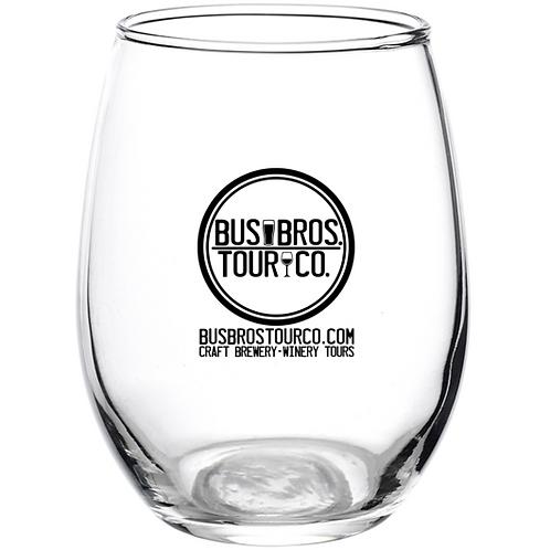 9oz Stemless Wine Glass