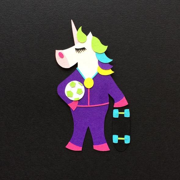Sport Unicorn Goldy