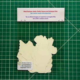 Unicorn Sticker Packaging