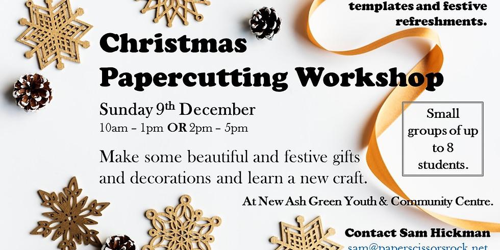 Christmas Papercutting Workshop