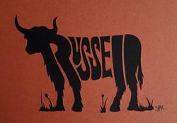 Russell's long-horned cattle