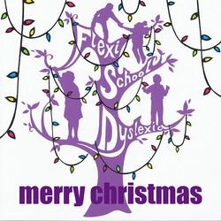 Flexi school christmas card