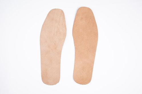 Leather Insole - 2mm thick X 27.5cm / 29cm (length) 皮革鞋墊 -  2mm 厚 X 27.5cm / 29c