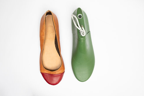 Shoe Last for Ladies Ballet Flats Shoes (Round) /女裝平低圓頭鞋楦