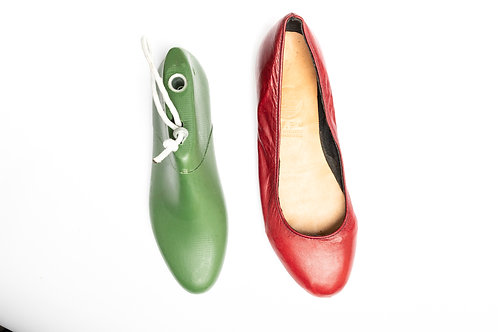 Shoe Last for Ladies Ballet Flats Shoes (Pointy) /女裝平低尖頭鞋楦