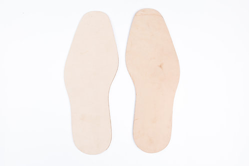 Leather Outsole - 4.0 - 4.5mm thick size S,M, L and XL 皮革鞋低4.0-4.5mm厚 ,尺寸:小, 中,大