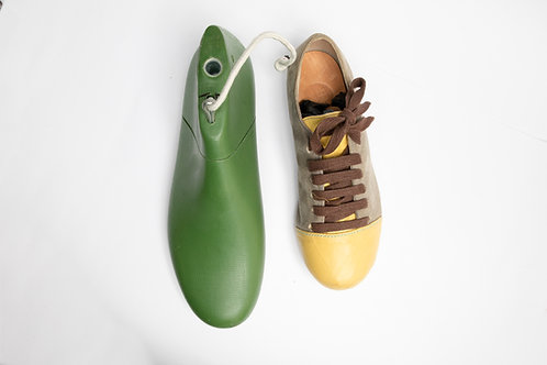 Shoe Last for Tie String Shoes - Unisex Sizes /男女綁繩平底鞋鞋楦