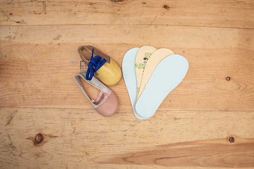 Baby Shoes : Paper insole + Foam (1set) / BB  紙低 + 海綿 1 對 (以切出