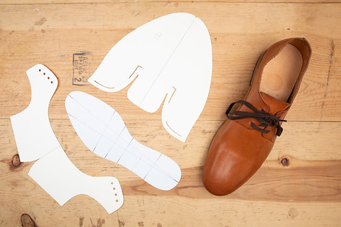 Paper Pattern for Derby Shoes - Unisex /男女裝德比鞋紙樣