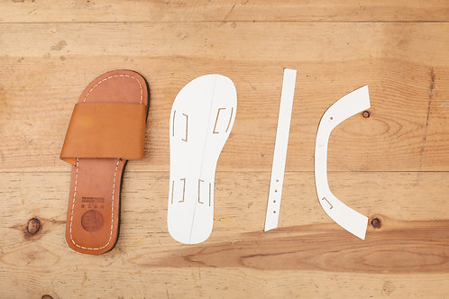 Paper Pattern for Adults Sandals -男女裝涼鞋紙樣