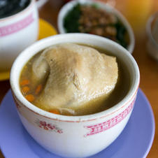 Delicious herbal soup patronised by many daily.