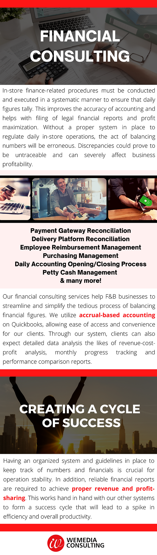 Financial Consulting F&B