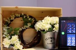 Custom Floral Decor for Station