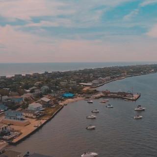 Ocean Bay Park, Fire Island by Drone
