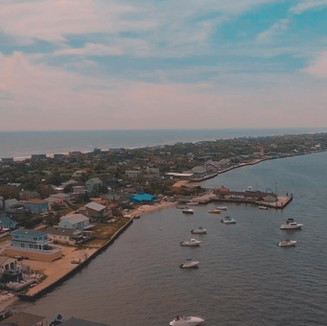 Ocean Bay Park, Fire Island by Drone
