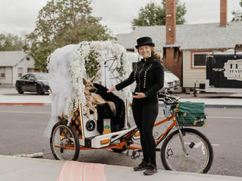 Give Your Wedding Guests a Ride to Remember with Pineapple Pedicabs