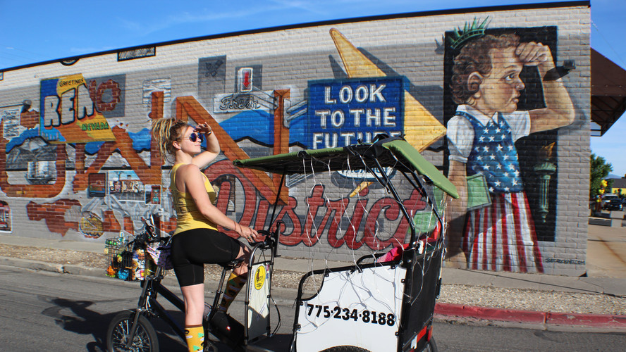 Look to the Future Mural