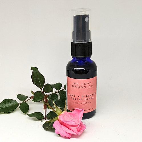 Rose + Hibiscus Facial Toner