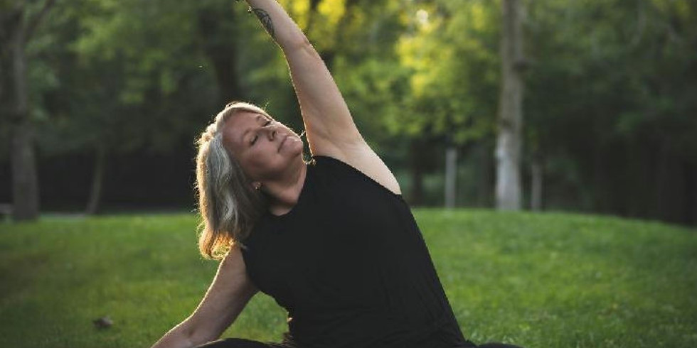 Yoga on the Meadows with Jess