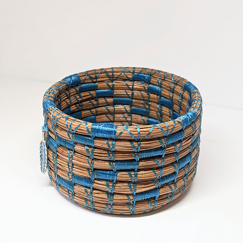 Handwoven Pine Needle Basket