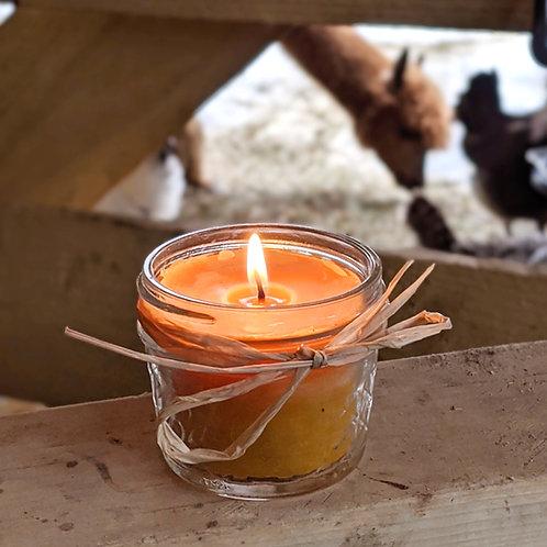 Beeswax Candle 'Fresh Barnyard'