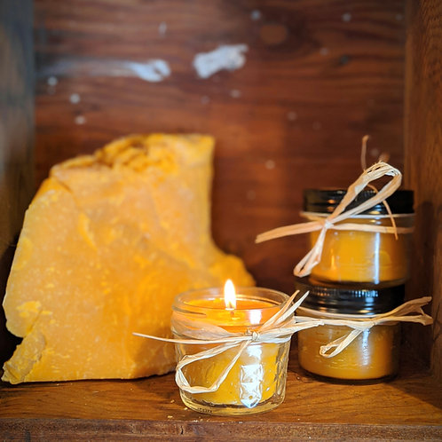 Beeswax Candle 'Happy Hive'