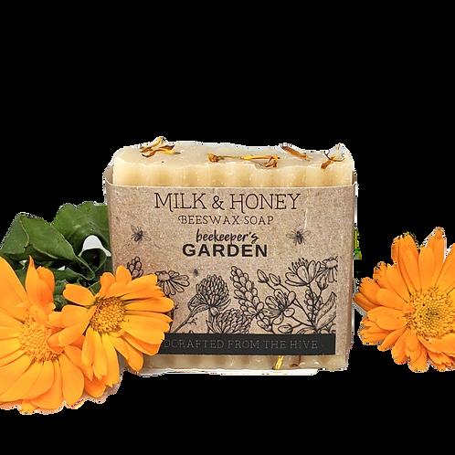 Calendula + Honey Beeswax Soap