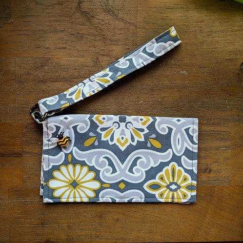 Handcrafted Wristlet Wallet