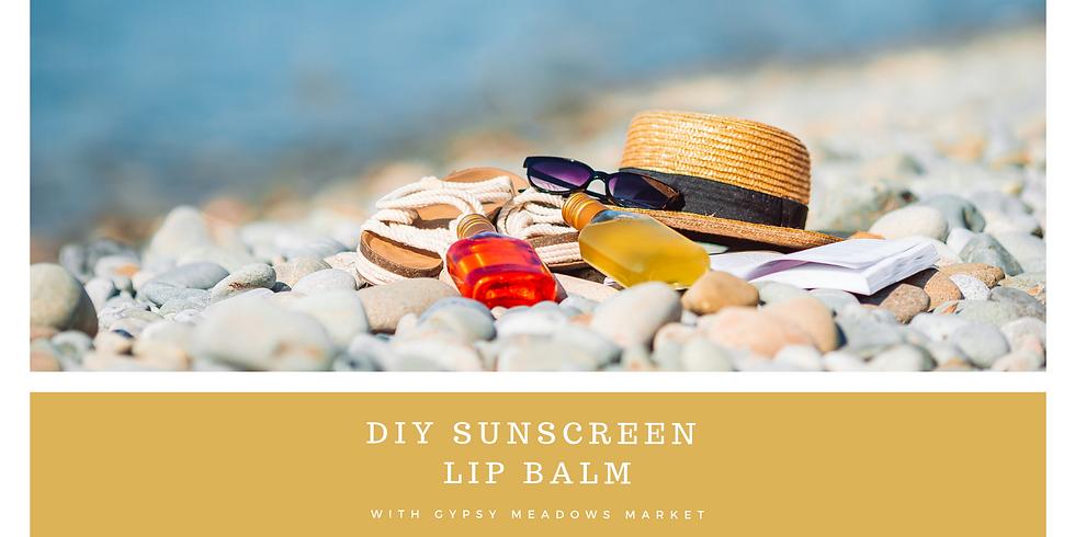 DIY Sunscreen Lip Balm