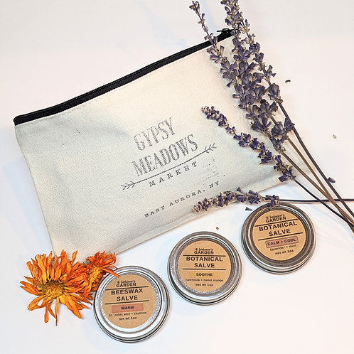 Beeswax Botanical Salve Trio