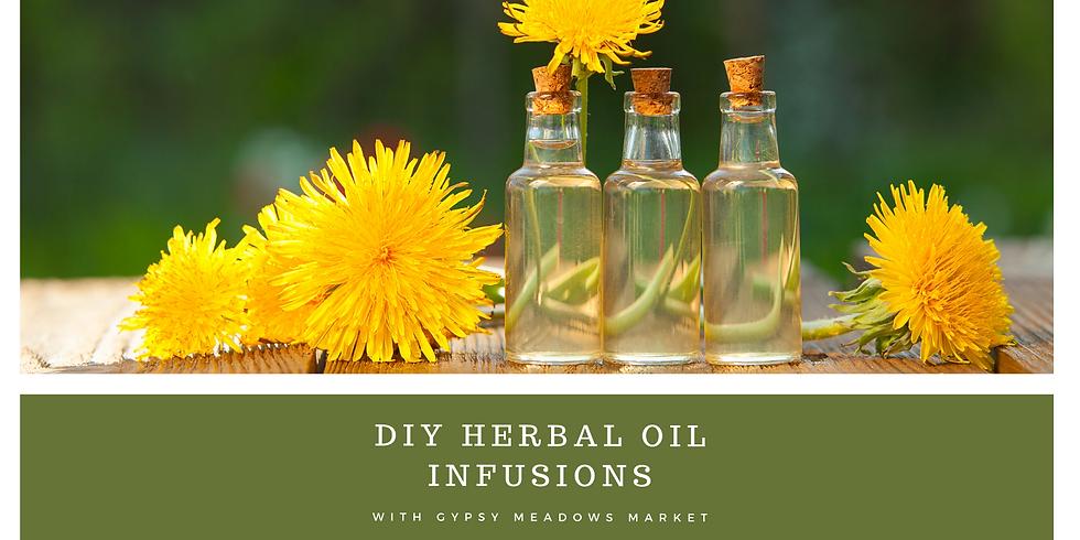 DIY Herbal Oil Infusions