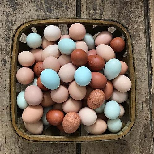 Farm Fresh Eggs - One Dozen