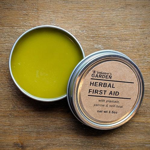 Herbal First Aid Salve