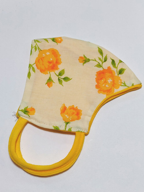 Roses adult child face mask