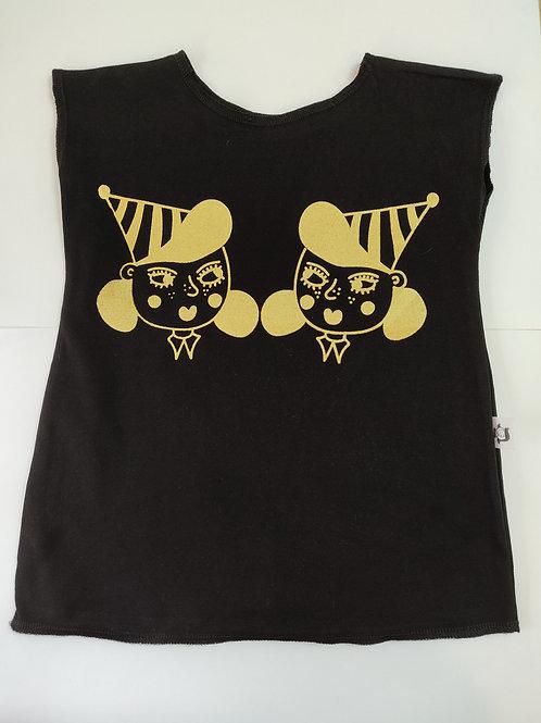 חולצת טריקו ילדות תאומות זהב