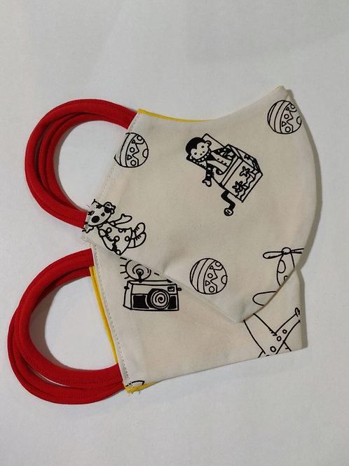 Retro Toys Adult child face mask