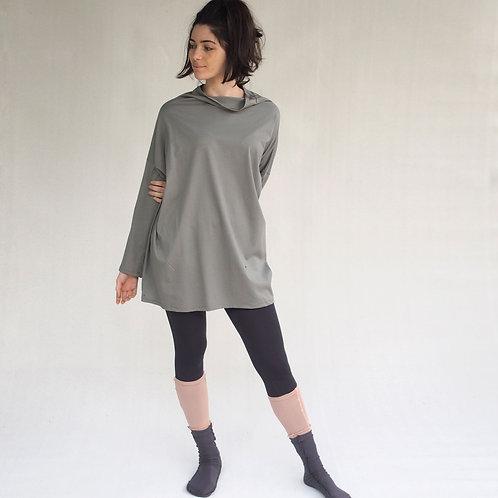 חולצת יפן אוברסייז זית