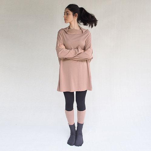 חולצת יפן אוברסייז פודרה