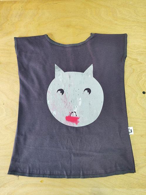חולצת טריקו ילדות חתול
