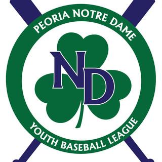 ND Youth Baseball League Logo