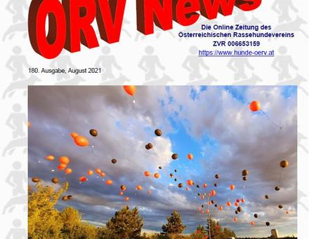 ÖRV - Zeitung August