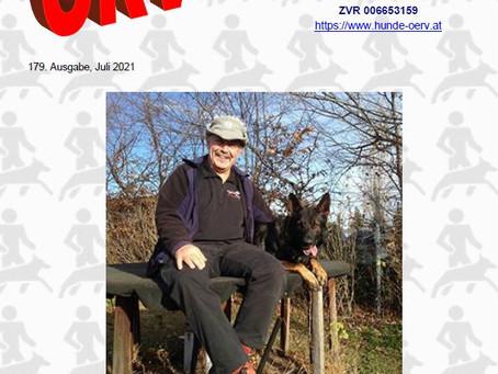 Juli - Ausgabe ÖRV -Zeitung online